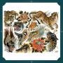 Alix Gé - Print - Planche de flashs tigres